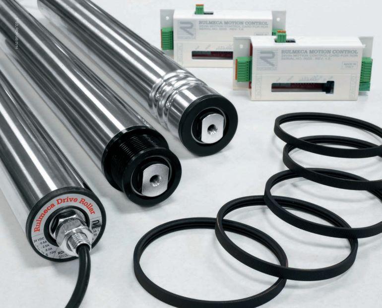 Rulmeca 24v drive rollers